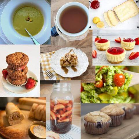 10 different spring time recipes