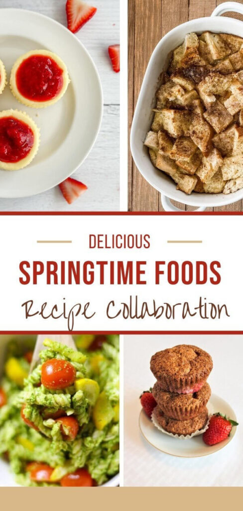 SPRINGTIME FOODS RECIPE COLLABORATION PIN