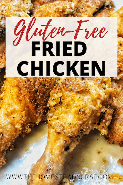 Gluten free fried chicken pin for pinterest