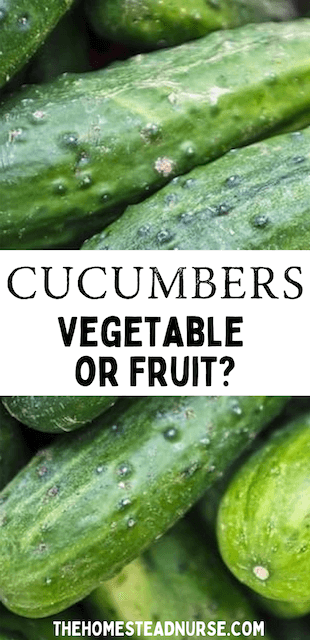 a group of cucumbers