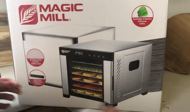 Magic mill dehydrator box